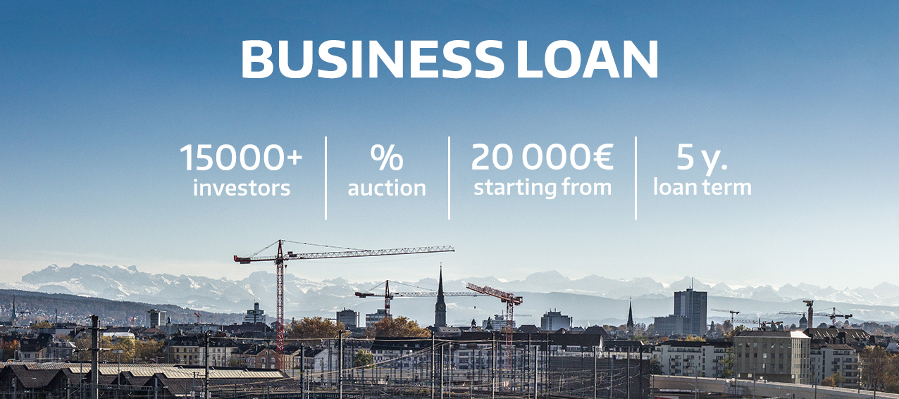 Business loan – Crowdestate's new service helps companies grow