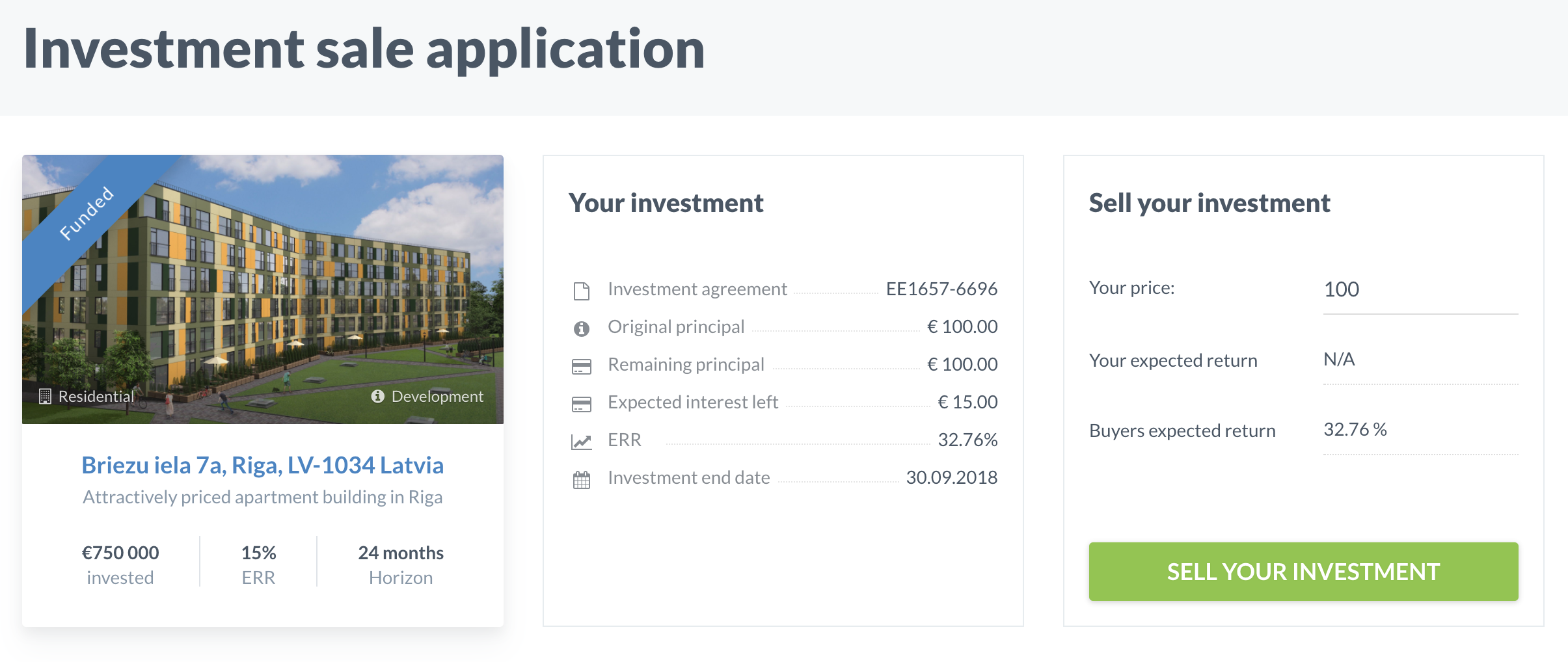 investment-sale-application