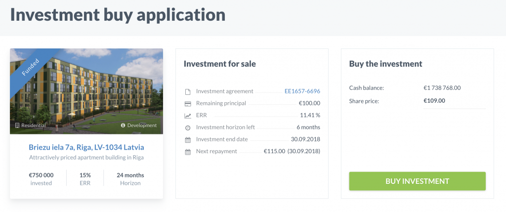 investment buy application