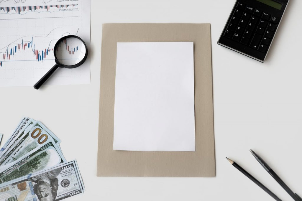 paper to write investment quotes on