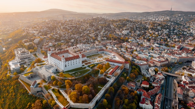 Development of real estate prices in Bratislava and its surroundings